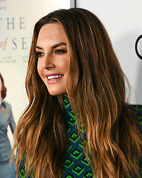 November 8, 2018 - ELIZABETH CHAMBERS attends the Opening Night World Premiere Gala Screening of 'On The Basis Of Sex' at AFI FEST 2018 Presented By Audi at TCL Chinese Theatre (Credit Image: © Billy Bennight/ZUMA Wire)