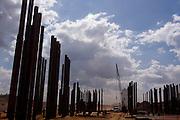 Jeceaba_MG, Brasil...Construcao de uma usina siderurgica em Jeceaba, Minas Gerais...The construction of the steel industry in Jeceaba, Minas Gerais...Foto: LEO DRUMOND / NITRO