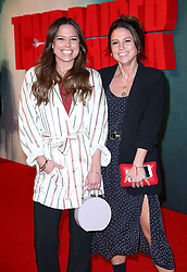 Jordan and Loanne Collyer attending the Tomb Raider European Premiere held at Vue West End in Leicester Square, London.