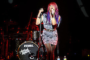 Photos of Allison Iraheta performing in support of Adam Lambert on August 8, 2010 at the Pageant in St. Louis.