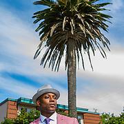 Actor and model Sean Ross in Santa Cruz, Calif.
