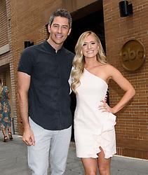 The Bachelor's Arie Luyendyk Jr. and Lauren Burnham Are Announce Wedding Date-NY ABC Studio, NY. 23 May 2018 Pictured: Arie Luyendyk Jr. and Lauren Burnham. Photo credit: RCF / MEGA TheMegaAgency.com +1 888 505 6342