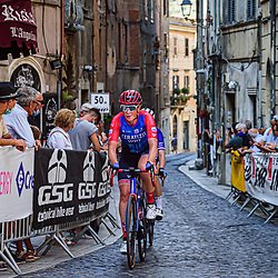 WILD Kirsten ( NED ) – Ceratizit-WNT Pro Cycling ( WNT ) - GER – Querformat - quer - horizontal - Landscape - Event/Veranstaltung: Giro Rosa Iccrea - 4. Stage - Category/Kategorie: Cycling - Road Cycling - Cycling Tour - Elite Women - Location/Ort: Europe – Italy - Start: Assisi - Finish: Tivoli - Discipline: Cycling - Road Cycling - Cycling Tour - Road Race ( RR ) - Distance: 170,3 km - Date/Datum: 14.09.2020 – Monday - Photographer: © Arne Mill - frontalvision.com
