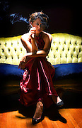 """Portrait of Jessica Smith of the play """" Much Ado About Nothing"""". Photo by Mark Cornelison"""
