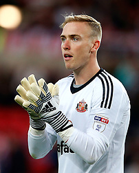 Jason Steele of Sunderland - Mandatory by-line: Matt McNulty/JMP - 04/08/2017 - FOOTBALL - Stadium of Light - Sunderland, England - Sunderland v Derby County - Sky Bet Championship