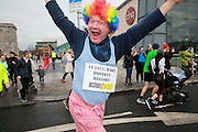 NO FEE PICTURES <br /> 1/1/15 Pierre Klein at the Resolution Day New Years Day fun run at the CHQ building in Dublin. Picture:Arthur Carron