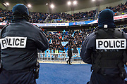 Fans zone of OM during the French Cup football match between Paris Saint-Germain and Marseille on February 28, 2018 at Parc des Princes Stadium in Paris, France - Photo Pierre Charlier / ProSportsImages / DPPI