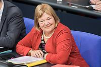 14 FEB 2019, BERLIN/GERMANY:<br />  Bettina Hagedorn, MdB, SPD, Parlamentarische Staatssekretaerin im Bundesministerium der Finanzen, Bundestagsdebatte, Plenum, Deutscher Bundestag<br /> IMAGE: 20190214-01-022<br /> KEYWORDS: Bundestag, Debatte