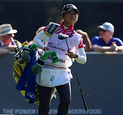 May 25, 2017 - Virginia Water, United Kingdom - caddie for Hideto Tanihara of Japen.during 1st Round for the 2017 BMW PGA Championship on the west Course at Wentworth on May 25, 2017 in Virginia Water,England  (Credit Image: © Kieran Galvin/NurPhoto via ZUMA Press)