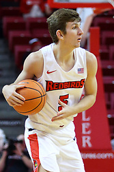 22 November 2017:  Matt Hein during a College mens basketball game between the Quincy Hawks and Illinois State Redbirds in  Redbird Arena, Normal IL