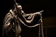 Backstage dello spettacolo teatrale Edipo Re, della Compagnia Arte e Salute, prssso il Teatro Arena del Sole, Bologna, 14 maggio 2009