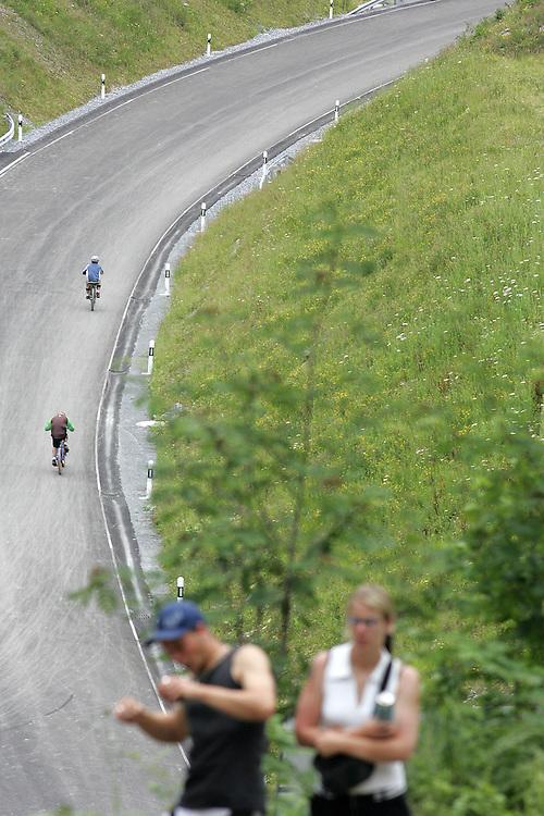 Flims 7th july 2007 - participants during the Runca Trail race (c) Christophe Margot