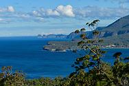 Oceania, Australia; Australian, Tasmania;  Tasman Peninsula, Eaglehawk Neck; view to Cape Hauy