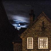 Luna Piena a Chelsea<br /> <br /> Full moon in Chelsea.
