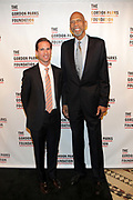 NEW YORK, NEW YORK-JUNE 4: (L-R) Peter W. Kunhardt, Jr., Executive Director, Gordon Parks Foundation and Kareem Abdul Jabbar (Honoree) attend the 2019 Gordon Parks Foundation Awards Dinner and Auction Red Carpet celebrating the Arts & Social Justice held at Cipriani 42nd Street on June 4, 2019 in New York City.  (photo by terrence jennings/terrencejennings.com)