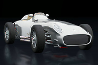 The 1954 Mercedes W196 Silver Arrow was the spearhead of Mercedes on the race track in the mid 1950's. Famous autopilots drove legendary races with this Mercedes W196 Silver Arrow. The technology introduced in this Mercedes has been adopted by many. The 1954 Mercedes W196 Silver Arrow is without a doubt one of the most important Mercedes cars ever.<br /> <br /> This painting of a 1954 Mercedes W196 Silver Arrow can be printed very large on different materials. -<br /> <br /> BUY THIS PRINT AT<br /> <br /> FINE ART AMERICA<br /> ENGLISH<br /> https://janke.pixels.com/featured/mercedes-w196-silver-arrow-three-quarter-view-jan-keteleer.html<br /> <br /> WADM / OH MY PRINTS<br /> DUTCH / FRENCH / GERMAN<br /> https://www.werkaandemuur.nl/nl/shopwerk/Mercedes-W196-Zilveren-Pijl-drie-kwart-mening/742098/132?mediumId=11&size=75x50<br /> <br /> -