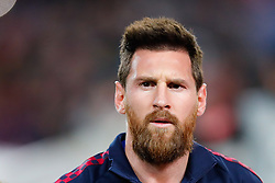 November 5, 2019, Barcelona, Catalonia, Spain: November 5, 2019 - Barcelona, Spain - Uefa Champions League Stage Group, FC Barcelona v Slavia Praga:  Lionel Messi of FC Barcelona before start the game. (Credit Image: © Eric Alonso/ZUMA Wire)