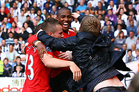 Football - Premier League - West Bromwich Albion vs. Manchester United<br /> Ashley Young of Manchester United celebrates putting his side 2-1 up at The Hawthorns
