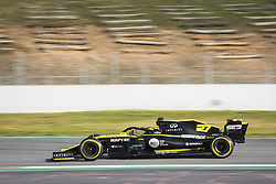 February 18, 2019 - Barcelona, Spain - 27 HULKENBERG Nico (ger), Renault Sport F1 Team RS19, action during Formula 1 winter tests from February 18 to 21, 2019 at Barcelona, Spain - Photo Antonin VincentMotorsports: FIA Formula One World Championship 2019, Test in Barcelona, (Credit Image: © Hoch Zwei via ZUMA Wire)