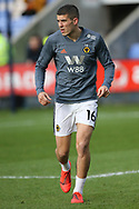 Wolverhampton Wanderers defender Conor Coady (16) during the The FA Cup fourth round match between Shrewsbury Town and Wolverhampton Wanderers at Greenhous Meadow, Shrewsbury, England on 26 January 2019.