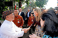 31-8-2016 BOGOR  - Queen Maxima  during a field visit she visits Inclusive Finance projects in Bogor  outside Jakarta   she visits little shops . Queen Maxima visit on wensday, August 31th to Thursday, September 1st, the Republic of Indonesia in its role of special advocate of the Secretary-General of the United Nations for Inclusive Finance for Development. COPYRIGHT ROBIN UTRECHT<br /> <br /> 31-8-2016 BOGOR - Koningin Maxima tijdens een veldbezoek ze bezoekt Inclusive Finance projecten in Bogor buiten Jakarta bezoekt ze kleine winkeltjes. Koningin Maxima bezoeken op wensday, 31-01 augustus donderdag, september, de Republiek Indonesië in haar rol van speciale pleitbezorger van de secretaris-generaal van de Verenigde Naties voor Inclusive Finance for Development. COPYRIGHT ROBIN UTRECHT