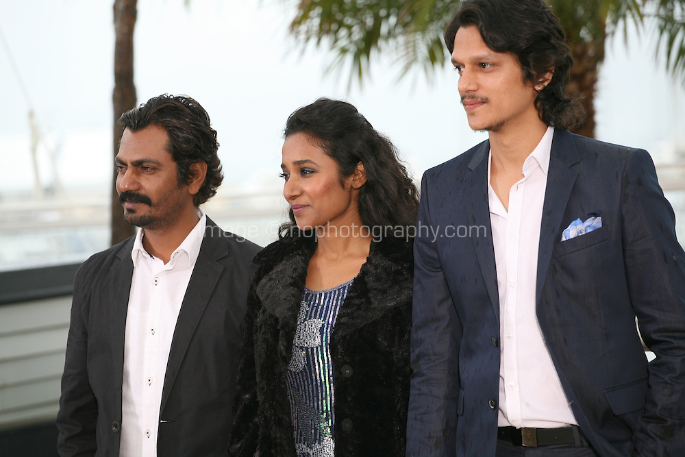 at the Monsoon Shootout film photocall at the Cannes Film Festival 18th May 2013