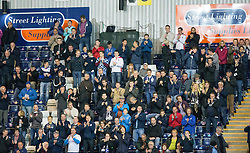 The South Stand at the start of the game. Falkirk 1 v 3 Rangers, Scottish League Cup game played 23/9/2014 at The Falkirk Stadium.