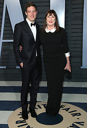 vanity fair oscar party in Hollywood, CA. 04 Mar 2018 Pictured: Anjelica Huston. Photo credit: MEGA TheMegaAgency.com +1 888 505 6342