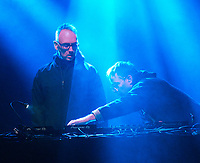 BASEMENT JAXX DJ SET live at the KNEBWORTH Pub in the park Drive in  Garden Party photo by Brian Jordan