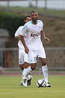 FOOTBALL - FRIENDLY GAMES 2010/2011 - OLYMPIQUE MARSEILLE v TOULOUSE FC - 21/07/2010 - PHOTO ERIC BRETAGNON / DPPI - EDOUARD CISSE (OM)