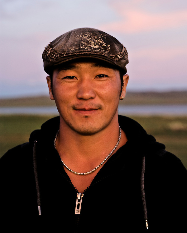Portraits of Mongolian a male