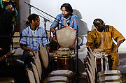 Photos of Indian classical percussionist Avirodh Sharma performing at Fashion Diaspora gala event at Yale Club of New York City. November 11, 2011. Copyright © 2011 Matthew Eisman. All Rights Reserved.