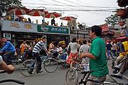 Qianhai Lake bar and restaurant district. Yun Ya bar.