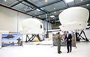 Koning Willem-Alexander brengt een werkbezoek aan het Defensie Helikopter Commando in Gilze-Rijen.<br /> <br /> King Willem-Alexander brings a work visit to the Defense Helicopter Command in Gilze-Rijen.