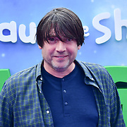 Alex James attend the Shaun the Sheep Movie: Farmageddon, at ODEON LUXE on 22 September 2019,  London, UK.