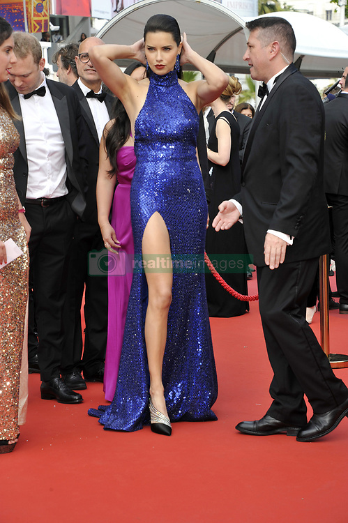 May 22, 2019, Cannes, France: ADRIANA LIMA gets ready at 72nd Cannes Film Festival 2019, red carpet for film The Gangster, The Cop, The Devil. (Credit Image: © Camilla Morandi/IPA via ZUMA Press)