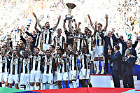 Esultanza Juventus Campione d'Italia . Celebration Juventus Italian championship winner <br />  Torino 21-05-2017 Juventus Stadium Football Calcio Serie A 2016/2017 Juventus - Crotone .<br /> Foto Image Sport / Insidefoto