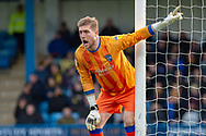 Gillingham FC goalkeeper Tomas Holy (1) during the EFL Sky Bet League 1 match between Gillingham and Oxford United at the MEMS Priestfield Stadium, Gillingham, England on 9 March 2019.