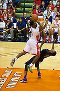 November 25 2014: Arizona guard Stanley Johnson shoots during the semi-final of the Maui Invitational at  Lahaina Civic Center on Maui, HI.