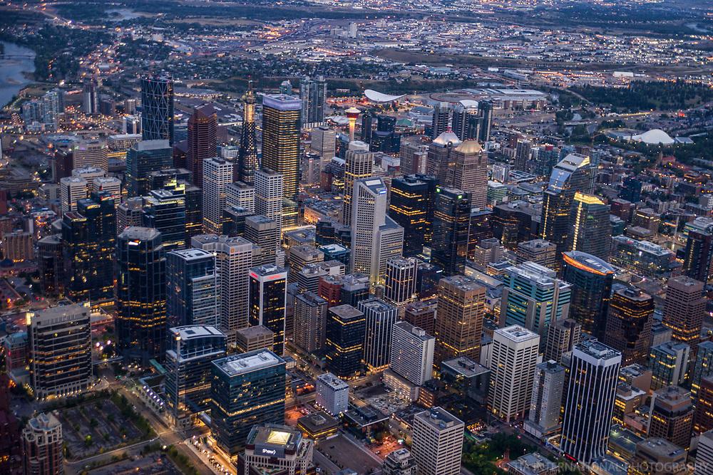 Downtown Core of Calgary