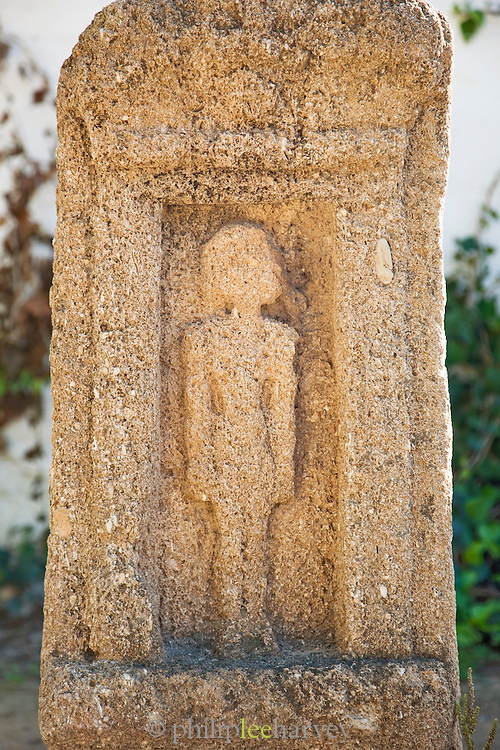 Child's tomb ston in, Carthage, Tunisia