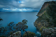 Oceania, Australia; Australian; Tasmania; Bruny Island, South Bruny National Park, Fluted Cape