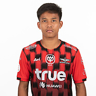 THAILAND - MARCH 06: Athatcha Rahongthong #41 of True Bangkok United on March 06, 2019.<br /> .<br /> .<br /> .<br /> (Photo by: Naratip Golf Srisupab/SEALs Sports Images/MB Media Solutions)