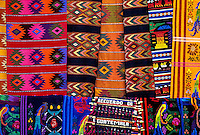 Guatemalan textiles, Hotel Antigua, Antigua (La Antigua Guatemala), Guatemala