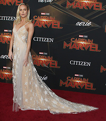 Premiere of Marvel Studio's Captain Marvel at El Capitan Theatre in Hollywood, California on 3/4/19. 04 Mar 2019 Pictured: Brie Larson. Photo credit: River / MEGA TheMegaAgency.com +1 888 505 6342