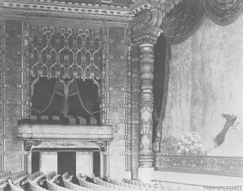 1926 El Capitan Theater Auditorium on Hollywood Blvd.