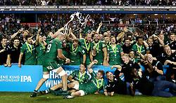 London Irish lift the Greene King IPA Championship trophy - Mandatory by-line: Robbie Stephenson/JMP - 24/05/2017 - RUGBY - Madejski Stadium - Reading, England - London Irish v Yorkshire Carnegie - Greene King IPA Championship Final 2nd Leg