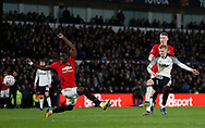 Louie Sibley of Derby County has a shot on goal during the FA Cup match at the Pride Park Stadium, Derby. Picture date: 5th March 2020. Picture credit should read: Darren Staples/Sportimage
