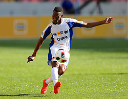 Diamond Thopola of Chippa United during the 1st leg of the MTN8 Semi Final between Chippa United and Mamelodi Sundowns held at the Nelson Mandela Bay Stadium in Port Elizabeth, South Africa on the 11th September 2016<br /><br />Photo by: Richard Huggard / Real Time Images