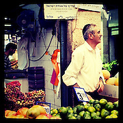 Jerusalem, Israel. September 20th 2011.Jerusalem's market